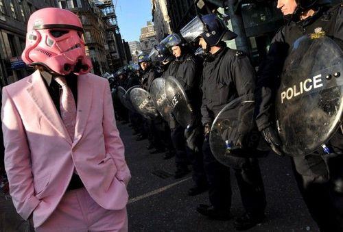 Розовый Вейдер